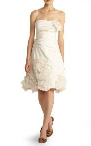 Wonderful Sleek Bridal Updo Strapless Wedding Dress And Layered Pearl Necklaces